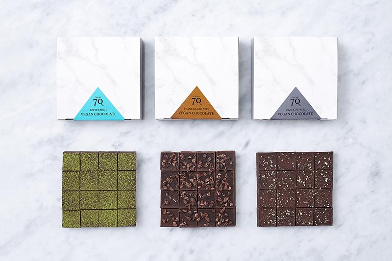 ハイカカオヴィーガン生チョコレート